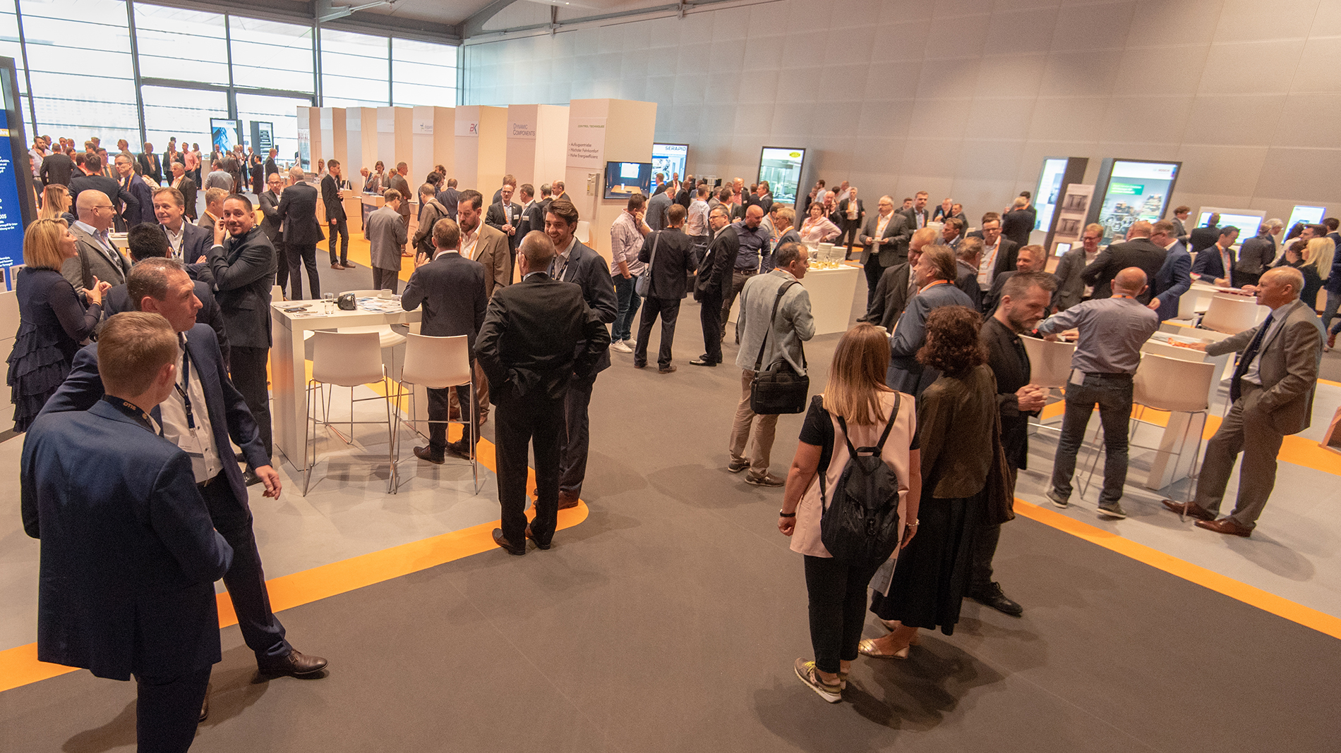 Networking at E2 Forum Frankfurt