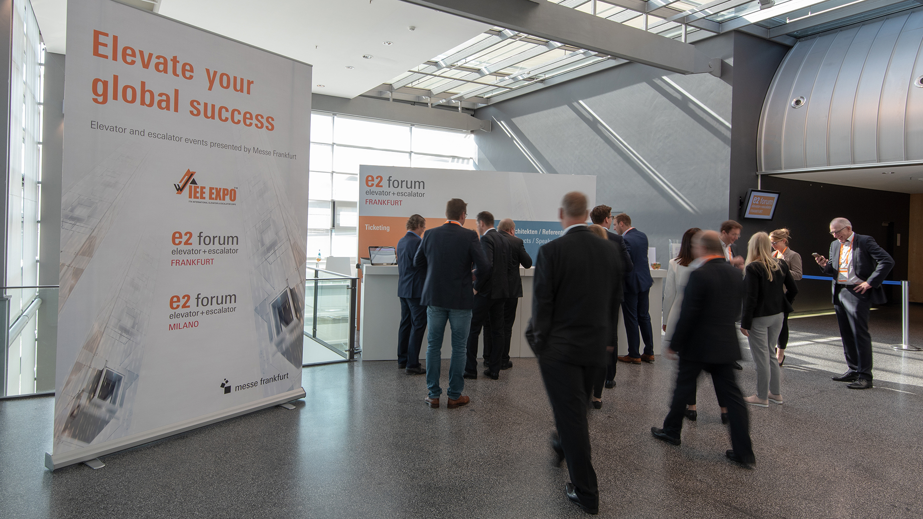 Visitors of E2 Forum Frankfurt