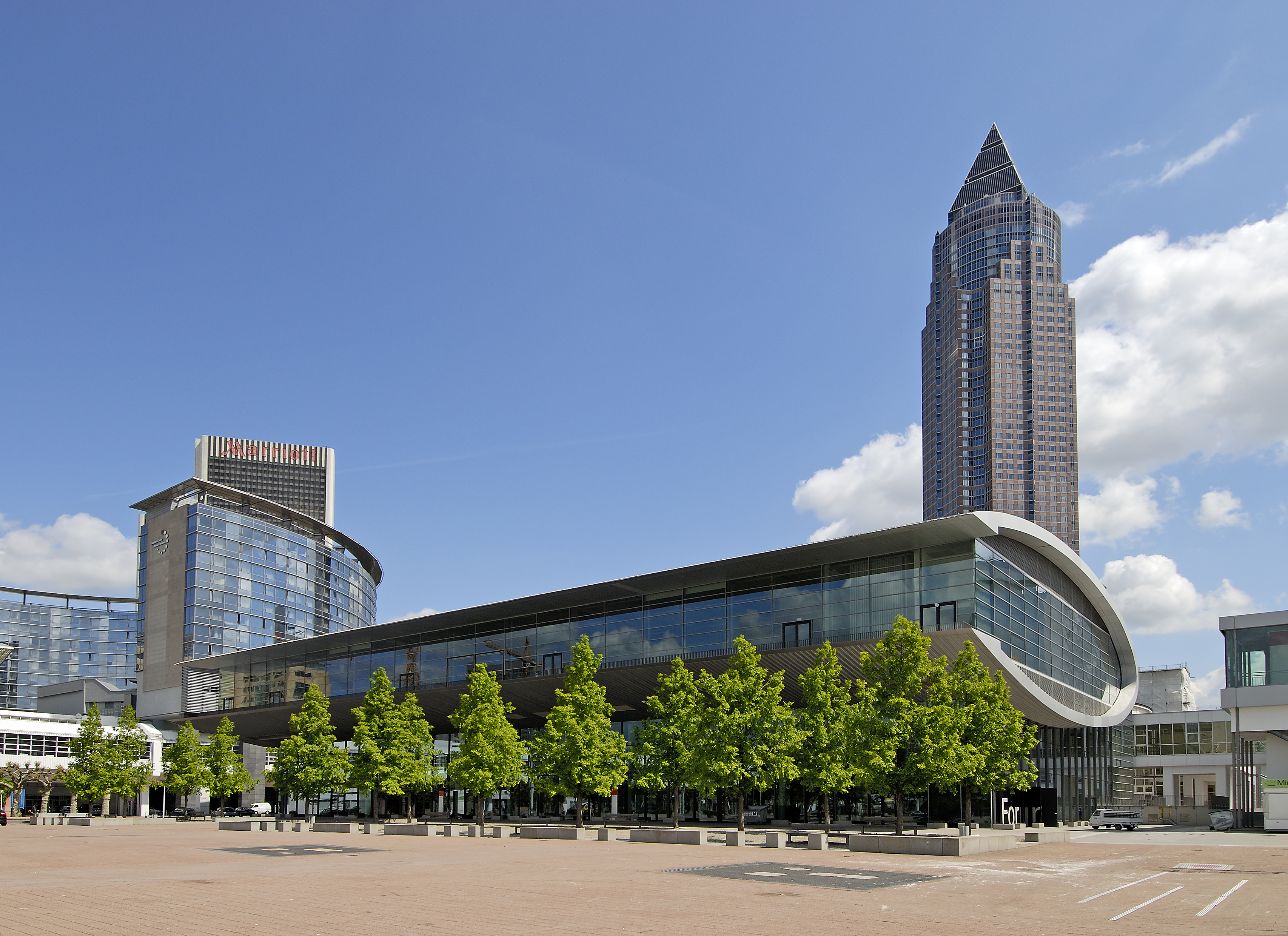 Forum.1 on the Frankfurt Fair and Exhibition Centre: venue for the E2 Forum Frankfurt 2018