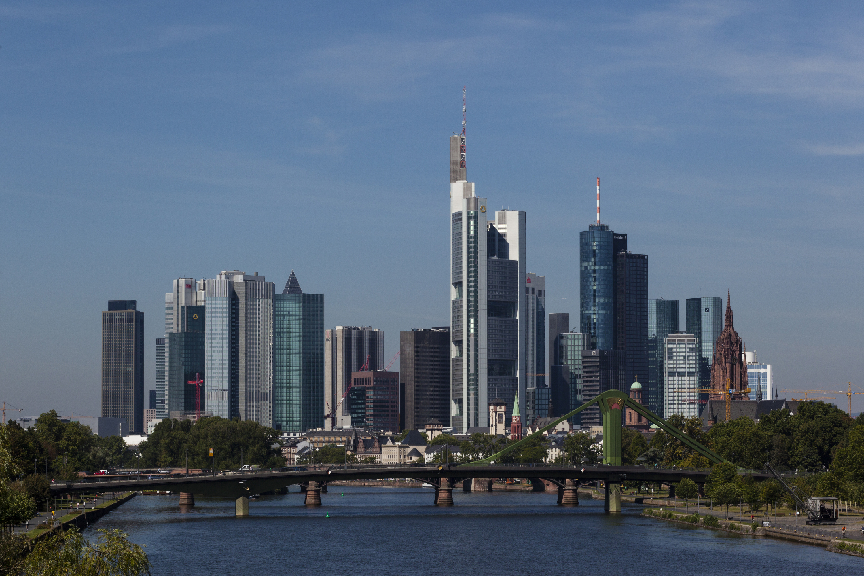 Skyline Frankfurt am Main (Quelle: Messe Frankfurt)
