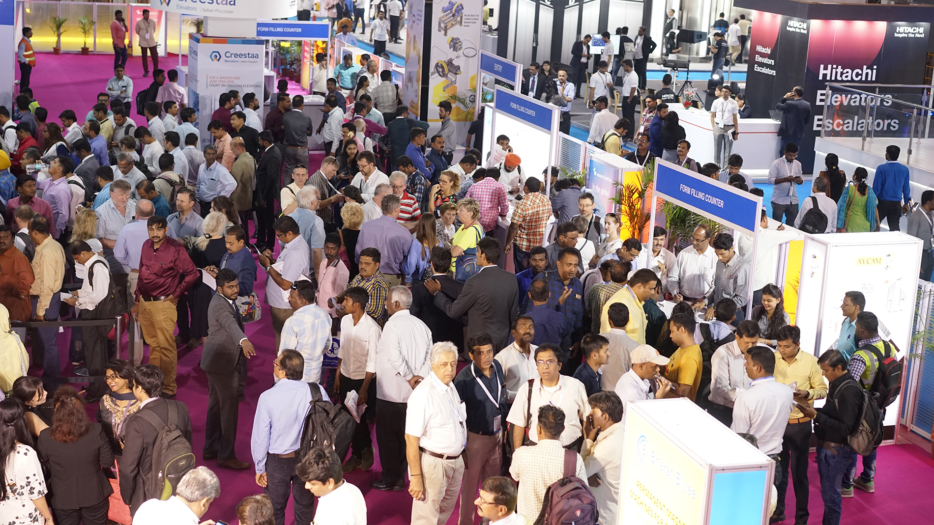 Crowd at IEE Expo (Source: MF India)