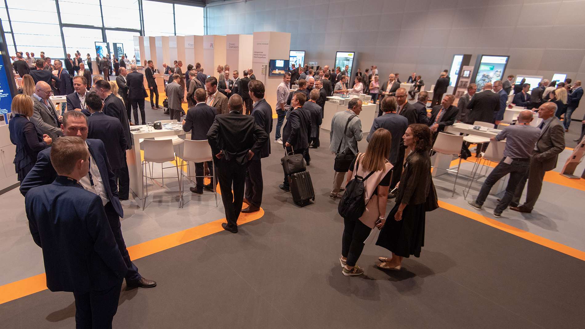 E2 Forum Frankfurt: the conference and exhibition generated great interest and were the setting for intensive networking. (Source: Messe Frankfurt GmbH / Sandra Gätke 2018)